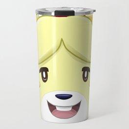 Animal Crossing Isabelle Travel Mug