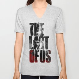 The Last of Us - black blood edition Unisex V-Neck
