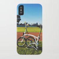brompton iPhone & iPod Cases featuring Brompton by Juan Lyn
