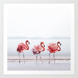 The Pink Dance Art Print