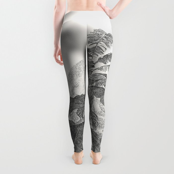 Palms and Mountain Leggings