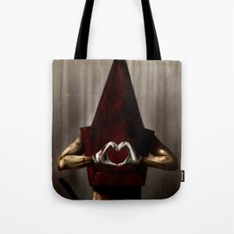 A Lovely Pyramid Head  Tote Bag