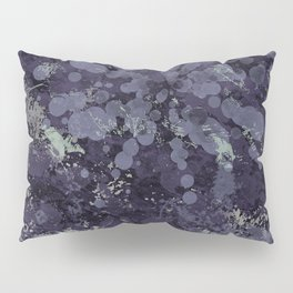 Abstract violet painting Pillow Sham