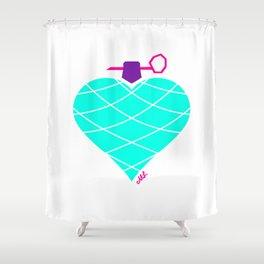 Love Is Da Bomb! Shower Curtain