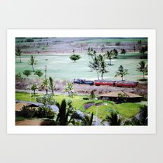 Mom & Dad's Hawaii Trip Slide No.4 Art Print