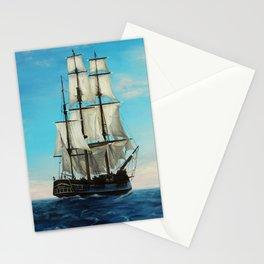 Bounty Ship Stationery Cards