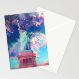 Welcome To The Bright Side Stationery Cards
