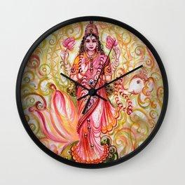 Lakshmi - Abundance Wall Clock