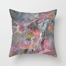 Cosmic Happiness Throw Pillow