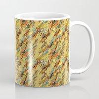 safari Mugs featuring safari by lilumon