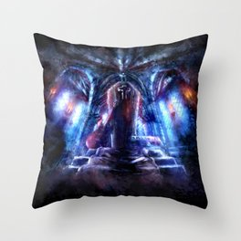 Castlevania: Vampire Variations- Dracula Throw Pillow