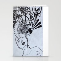 third eye Stationery Cards featuring Third Eye by Biancasigns