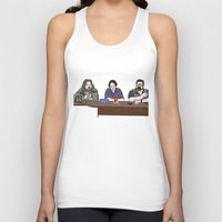 the big lebowski Tank Tops featuring The Big Lebowski by Josh Ross Illustration