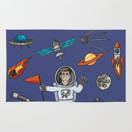 Space Elements Set Rug