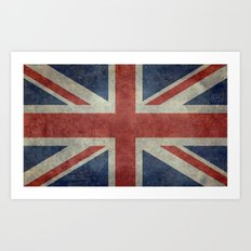 Union Jack Official 3:5 Scale Art Print