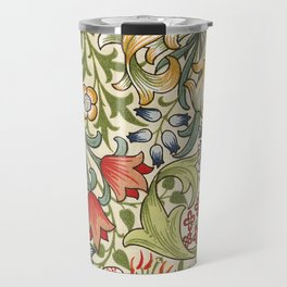 Modern poster-William Morris-Vegetable print 4. Travel Mug