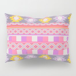 Rustic vibe in purple and pink Pillow Sham