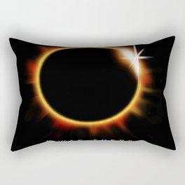 Total Solar Eclipse August 21 2017 Rectangular Pillow
