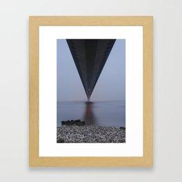 Humber bridge Framed Art Print