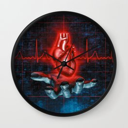 Slave to the Rhythm Wall Clock