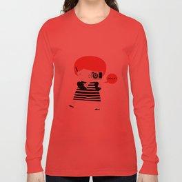The ginger photographer Long Sleeve T-shirt