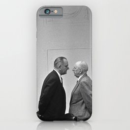 LBJ Giving The Treatment iPhone Case