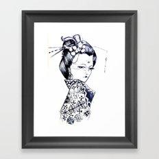 The Courtesan  Framed Art Print