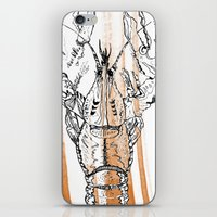 lobster iPhone & iPod Skins featuring Lobster by HBDesign