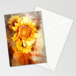 Sunflowers Aglow Stationery Cards