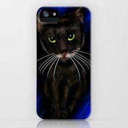 Dark Kitty iPhone Case