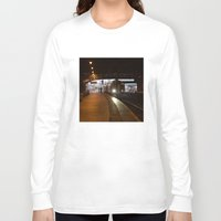 train Long Sleeve T-shirts featuring Train by RMK Photography