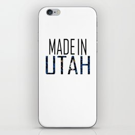 Made In Utah iPhone Skin