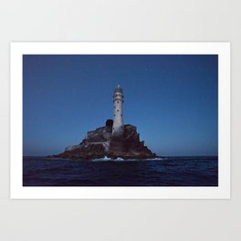 (RR 293) Fastnet Rock Lighthouse - Ireland Art Print