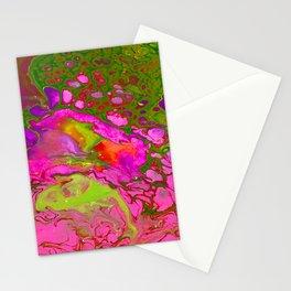 Pink Acid Stationery Cards