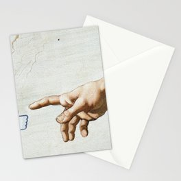 The creation. It's only Adam (But I Like It) Stationery Cards