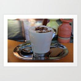 Coffee in Egypt Art Print