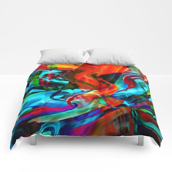 Love Tornado Comforters
