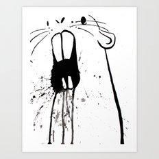Zombie Gopher Art Print
