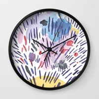 physics Wall Clocks featuring Quantum physics by Dreamy Me