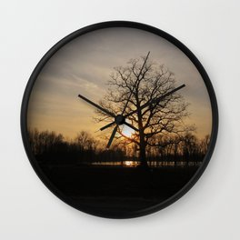 Ixonia Marsh Wall Clock