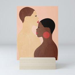 Two women Mini Art Print