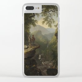 Asher Brown Durand - Kindred Spirits Clear iPhone Case
