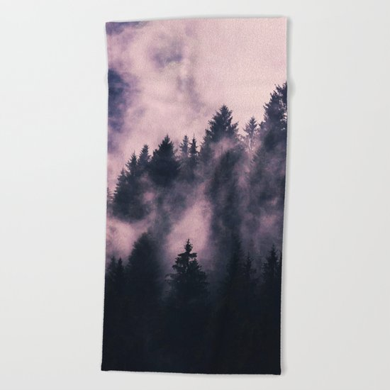 Foggy Night #society6 #decor #buyart Beach Towel