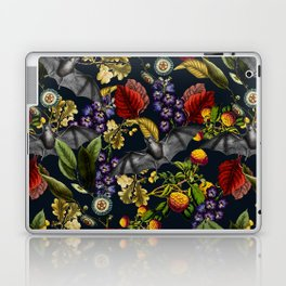 Flying Fox and Floral Pattern Laptop & iPad Skin