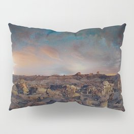 Exploring the Bisti Badlands of New Mexico Pillow Sham