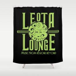 Leota Lounge Shower Curtain