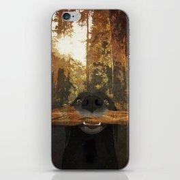 Playful Labrador iPhone Skin
