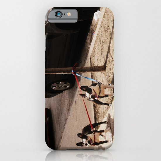 Boston Terriers ~ amped up for action! iPhone & iPod Case