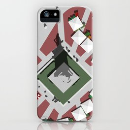 Monument Square Portland iPhone Case