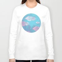 cloud Long Sleeve T-shirts featuring Cloud  by Tony Vazquez